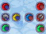 Разноцветный гаечный ключ