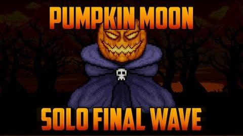 Terraria - Solo Pumpkin Moon Event Final Wave