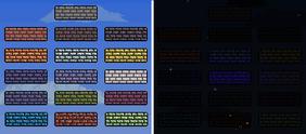 Bricks Day and Night