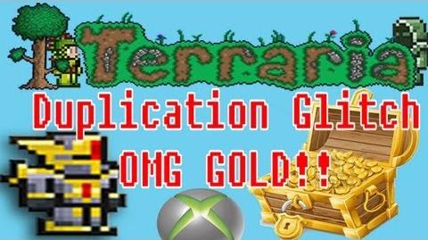 Terraria XBOX 360 Edition Duplication Glitch Original OMG !!!!