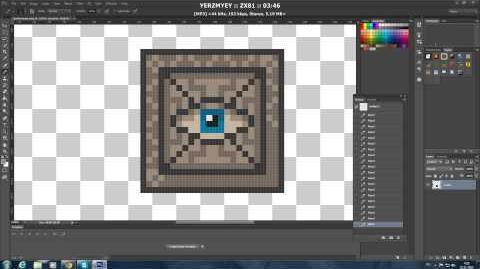 Рисуем Pixel Спрайты №2