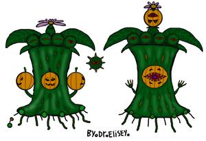 Pumpkin oak