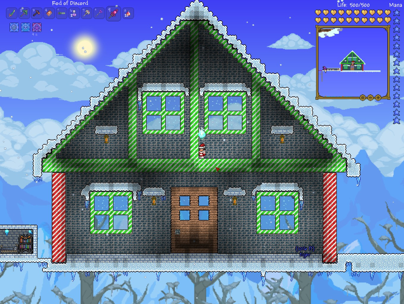 Terraria Christmas House.Board Thread General Discussion Comment 24315354