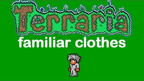 Terraria Familiar Clothes