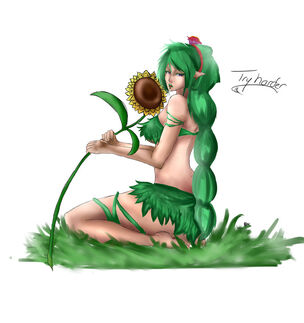 Terraria dryad rias by creativesubstance-d6rdq82