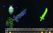 Lanzando espada