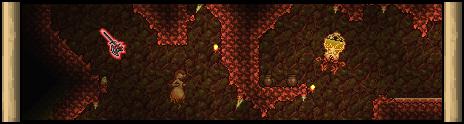 Подземный кримзон биом