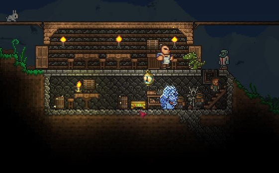 Swell Golden Work Bench Terraria Wiki Fandom Powered By Wikia Ncnpc Chair Design For Home Ncnpcorg