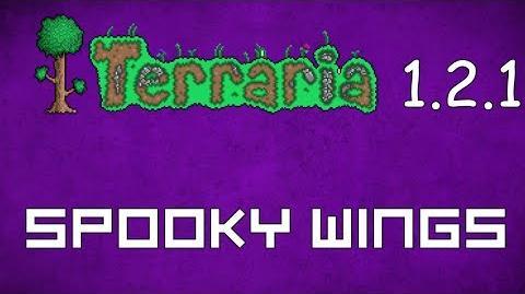 Spooky Wings - Terraria 1.2