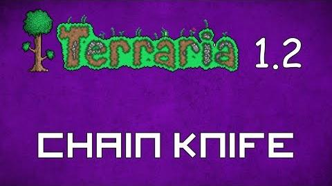 Chain Knife - Terraria 1.2 Guide New Melee Weapon!