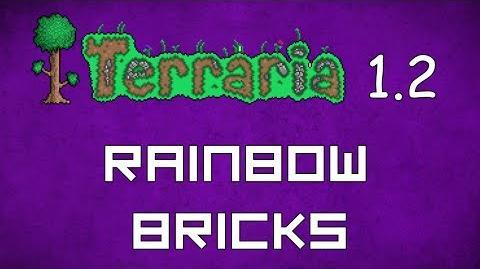 Rainbow Brick - Terraria 1