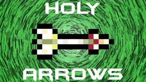 Holy Arrows Terraria HERO