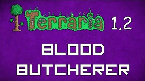 Blood Butcherer - Terraria 1
