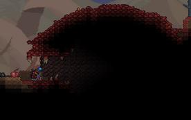 Wejście do rozpadliny w The Crimson