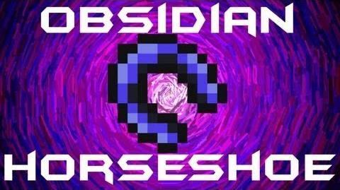 Obsidian HorseShoe Terraria HERO