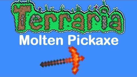 Terraria Molten Pickaxe