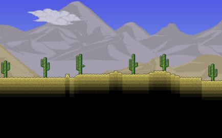 Krajobraz pustynia