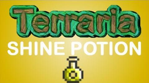 Terraria - Shine Potion