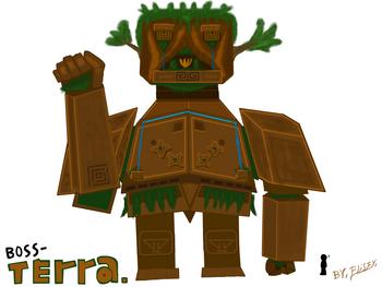 Terra Boss art's Elis
