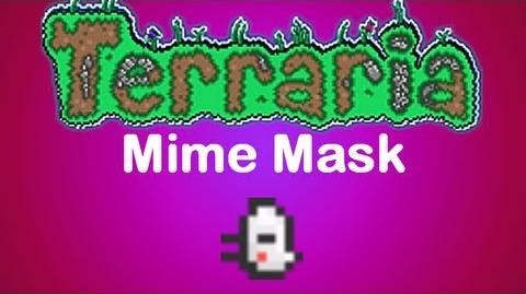 Terraria Mime Mask