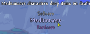 Mediumcore Mode