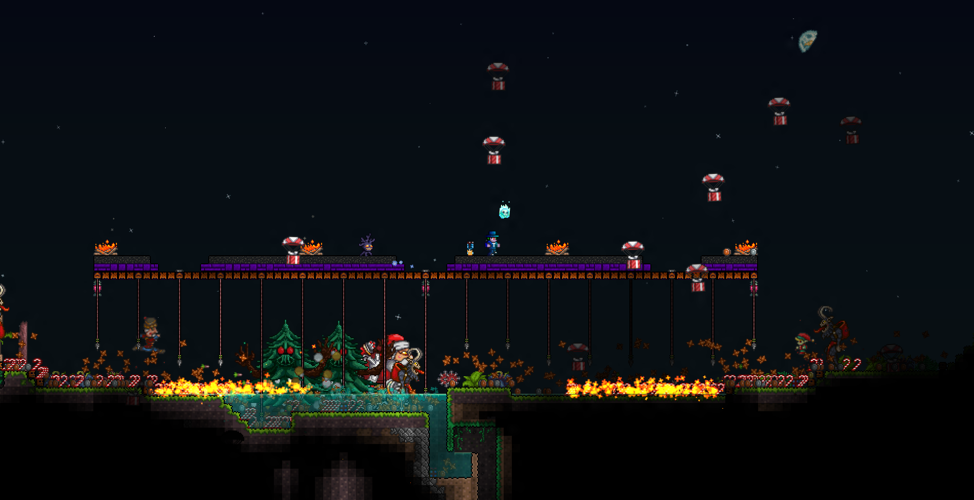 Terraria Christmas.Frost Moon Terraria Wiki Fandom Powered By Wikia