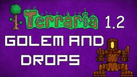 Golem and Drops - Terraria 1.2 Guide Golem Explained!