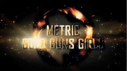 Metric - Gold Guns Girls (RIOT 87 Remix) Drum'N'Bass Rock