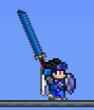 Utilizando la espada de cobalto