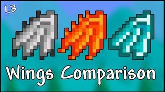 All Wings Comparison and Tier List - Terraria 1.3