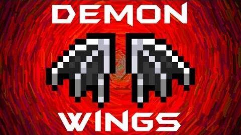 how to get angel/demon wings in terraria