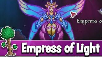 Empress of Light Boss - How to summon Empress of Light in Terraria 1.4