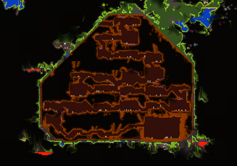 Lihzahrd temple terraria wiki fandom powered by wikia access and architecture terraria 1 gumiabroncs Images