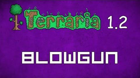 Blowgun - Terraria 1
