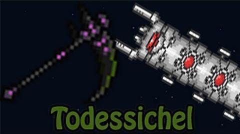 STÄRKSTE NAHKAMPFWAFFE! Terraria - Death Sickle Todessichel vs. Destroyer