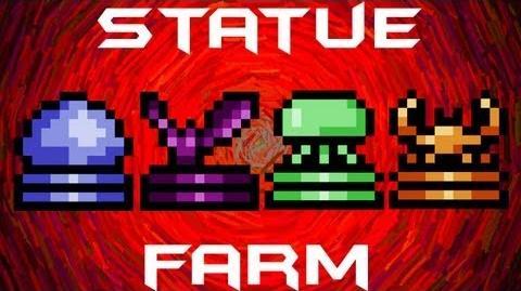 Statue Farming Terraria HERO