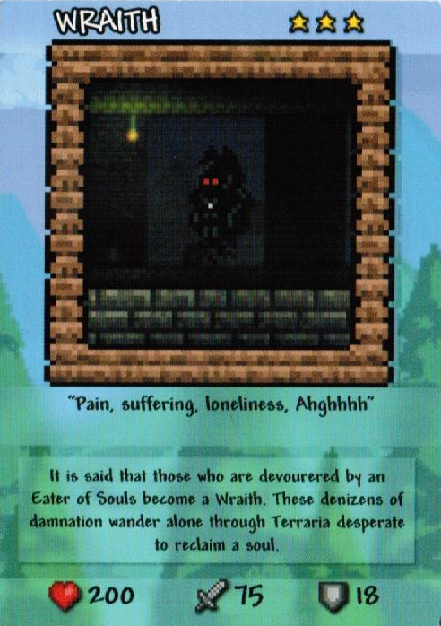 Wraith Card Terraria Wiki Fandom Powered By Wikia