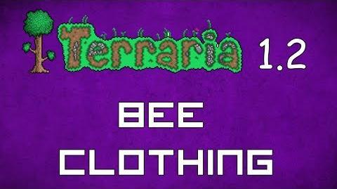 Bee Clothing - Terraria 1