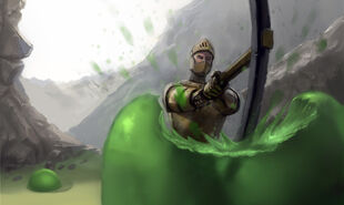 Terraria-slime-tall