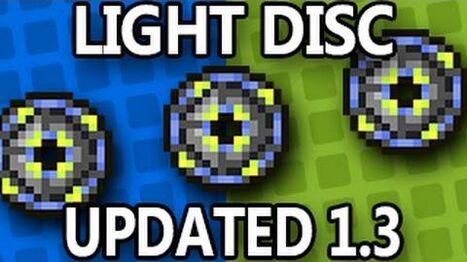 Light Disc, UPDATED items, Terraria 1