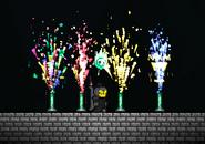 Firework Fountain efecto