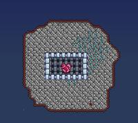 Crystal Planetoid