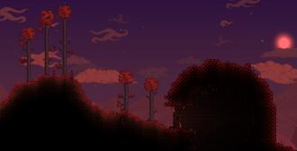 Carmesí paisaje