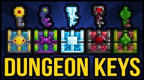 Dungeon Chest Keys, Crimson Chest, Hallowed Chest, Jungle Chest, Corruption Chest, Frozen Chest