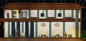 Casa de madera de la dinastia
