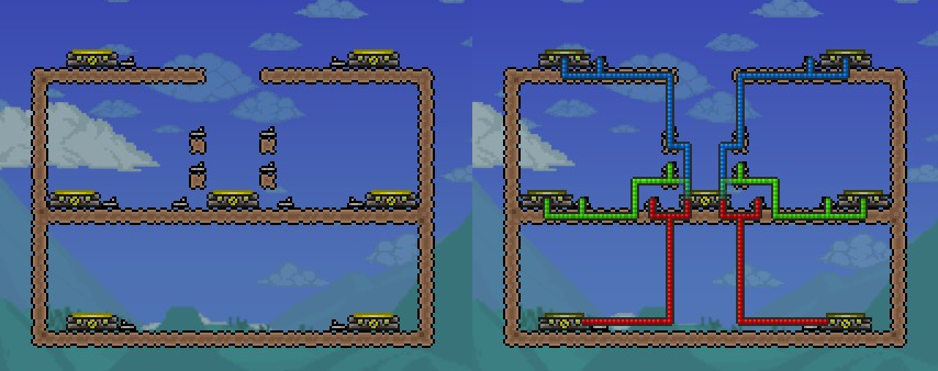 image teleporter wiring png terraria wiki fandom powered by wikia rh terraria wikia com terraria advanced wiring guide Terraria Heart Statue Wiring