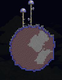 Mushroom Planetoid