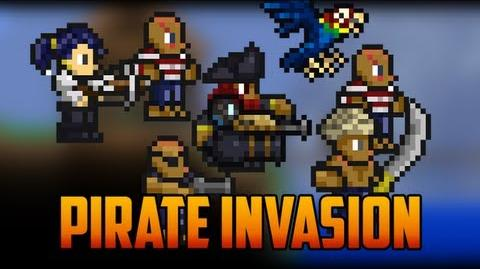 Terraria - Pirate Invasion and Pirate NPC