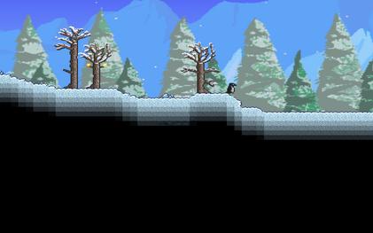Krajobraz biom śnieżny