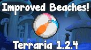 New Improved Beaches! - Terraria 1.2
